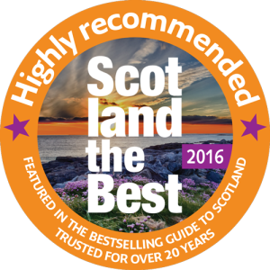 Scotland the Best 'highly recommended' digital badge